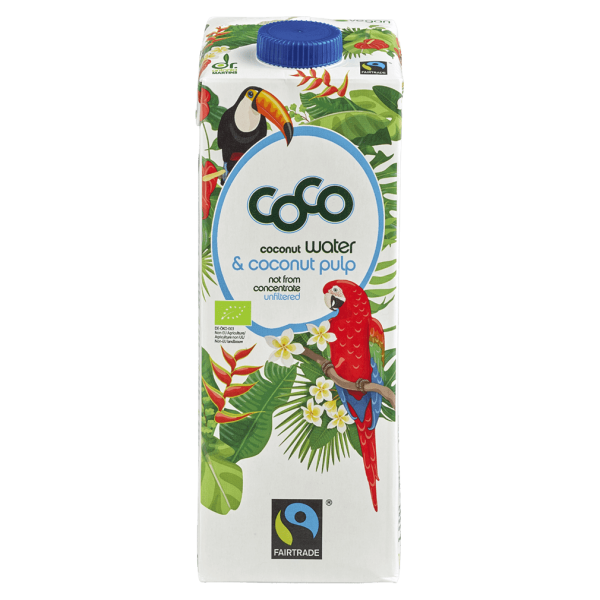 Dr. Antonio Martins Bio Coco Water & Coconut Pulp