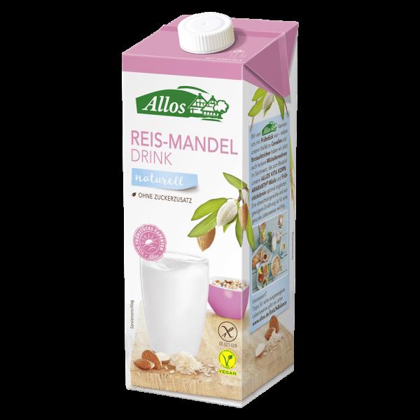 Bio Reis-Mandel-Drink