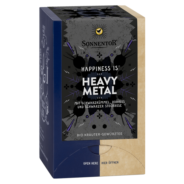 Sonnentor Bio Heavy Metal Tee, 27g