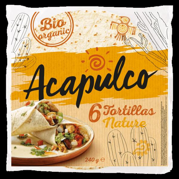 Acapulco Bio Tortilla Wraps