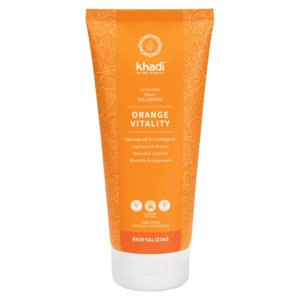 Khadi Shampoo Orange Vitality