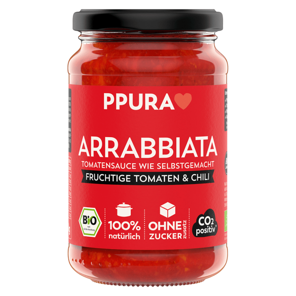 PPura Bio Tomaten Sugo Arrabbiata