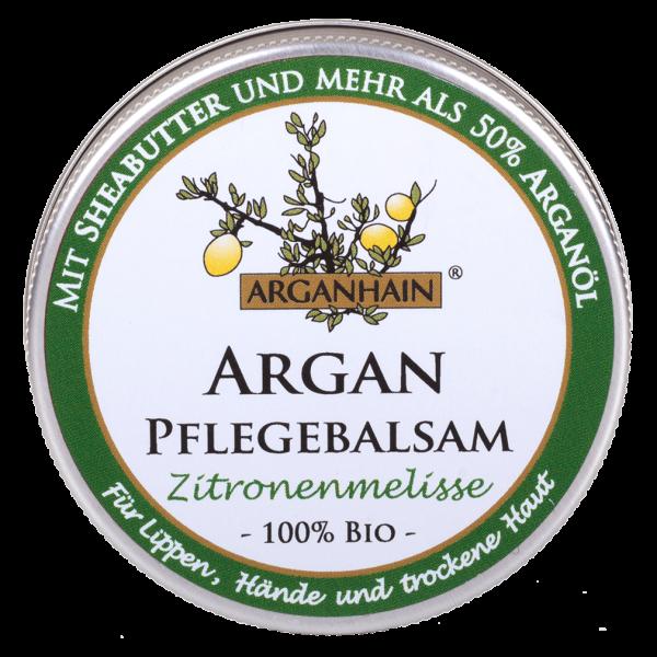 Arganhain Bio Arganöl- Pflegebalsam Zitronenmelisse