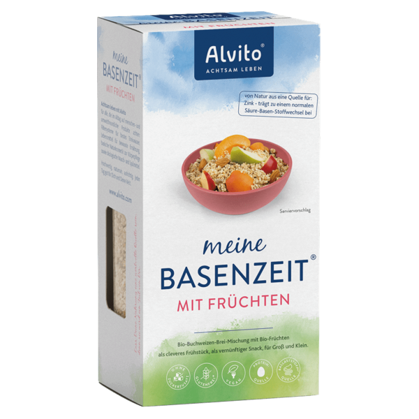 Bio BasenZeit Buchweizen-Hirse Brei