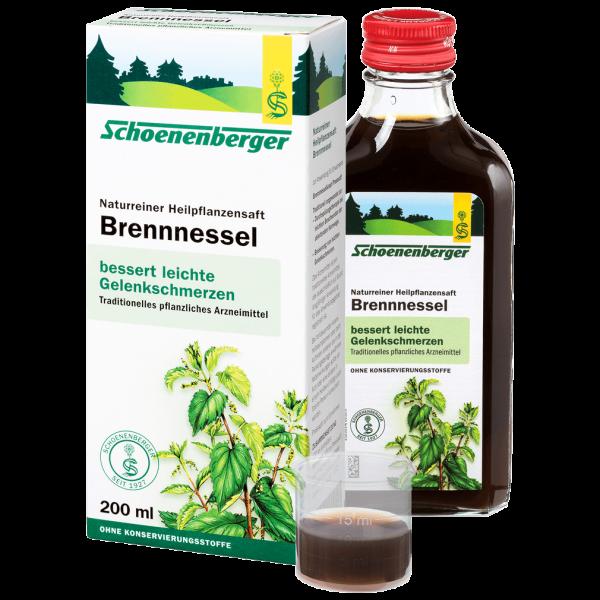 Schoenenberger Brennnessel-Heilpflanzensaft
