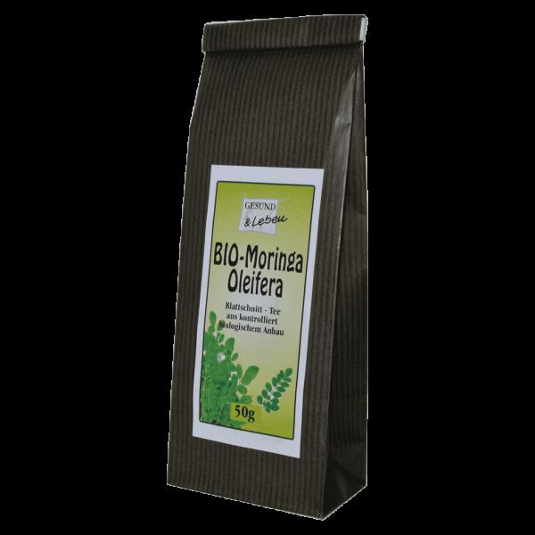 Gesund & Leben Bio Moringa Oleifera Tee