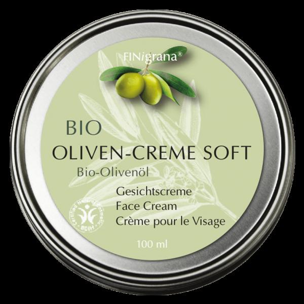 Finigrana Naturkosmetik Bio Oliven-Creme Soft