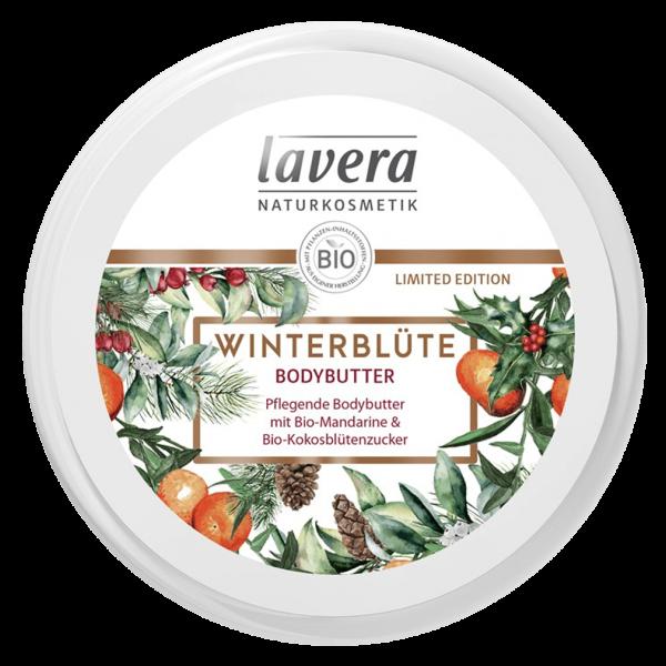 Lavera Naturkosmetik Winterblüte Bodybutter