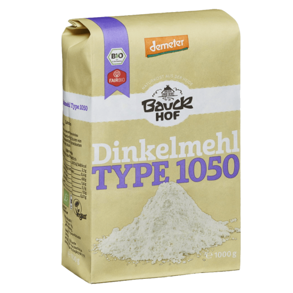 Bio Dinkelmehl Vollkorn 1050