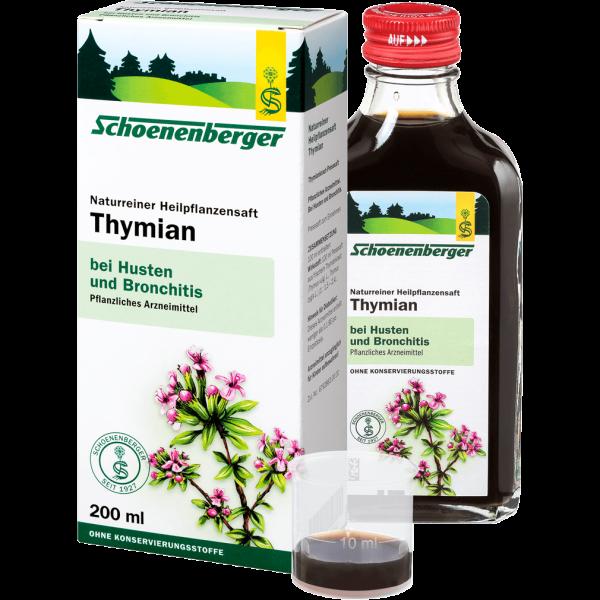 Bio Thymian Heilpflanzensaft, 200ml