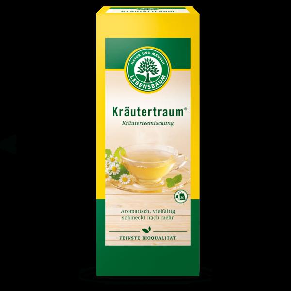 Lebensbaum Bio Kräutertraumtee, 20Btl.