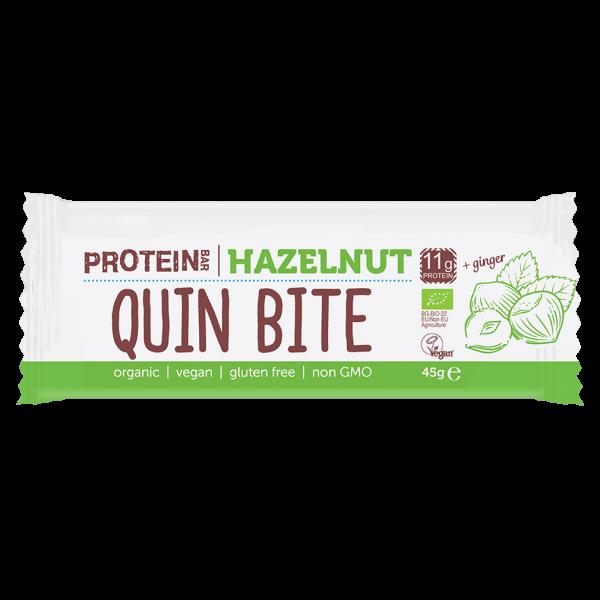 Quin Bite Bio Protein Bar Haselnuss