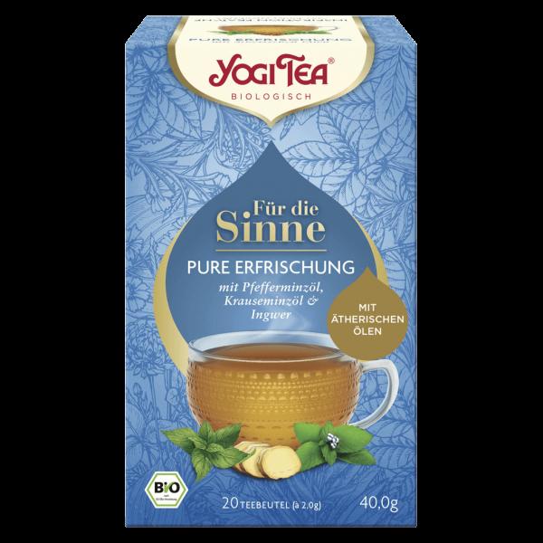 Yogi Tea Bio Für die Sinne Pure Erfrischung Tee