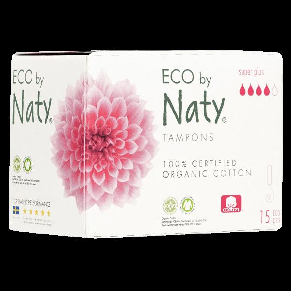 Naty Bio Tampons Super-Plus