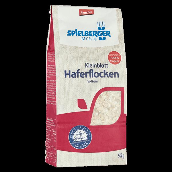 Spielberger Bio Haferflocken Kleinblatt