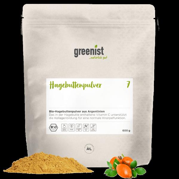 greenist Bio Hagebuttenpulver