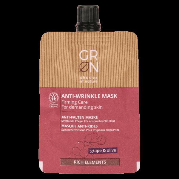 GRN Gesichtsmaske Anti-Falten Traube & Olive