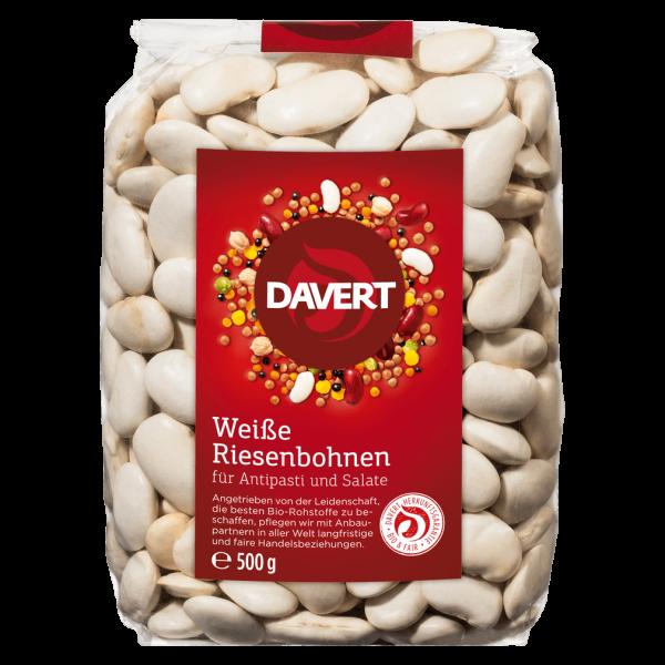 Davert Bio Weiße Riesenbohnen