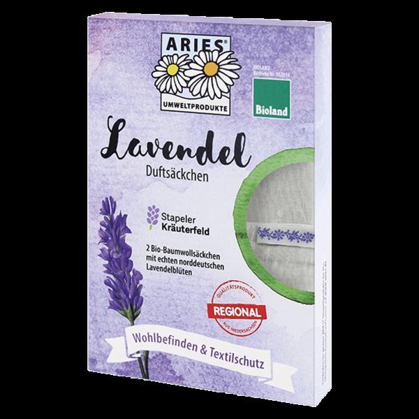 Aries Lavendel Duftsäckchen, 2 Stück