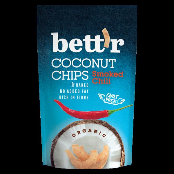 Bio Kokosnusschips mit Chili