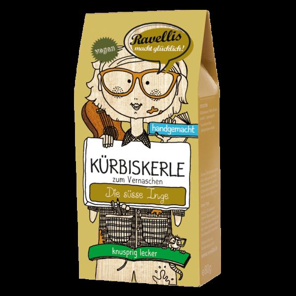 Bio Kürbiskerne Ingwer-Karamell