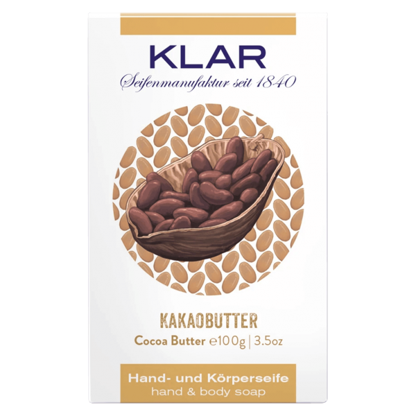 Klar Seifen Kakaobutter Seife