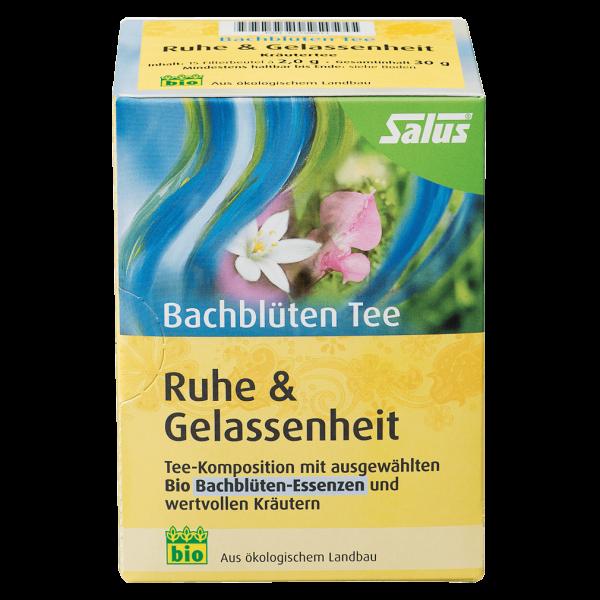 Salus Bio Bachblüten Tee Ruhe & Gelassenheit, 15Btl