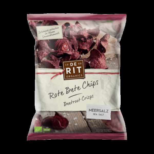 Bio Rote Bete Chips Meersalz