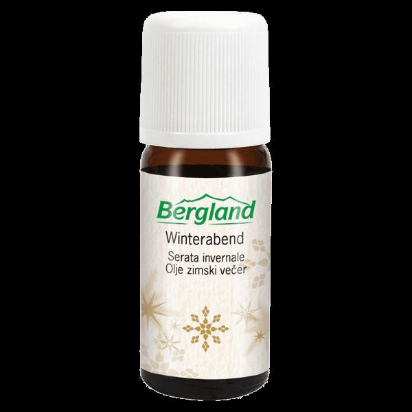 Bergland Winterabend Öl