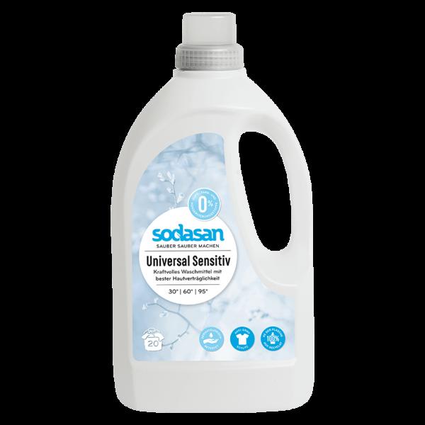 Sodasan Universal-Waschmittel Sensitiv, 1,5l
