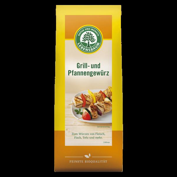 Lebensbaum Bio Grill- und Pfannengewürz, 50g
