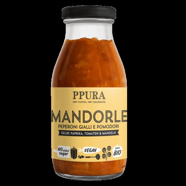 Bio Tomaten Sugo Mandorle