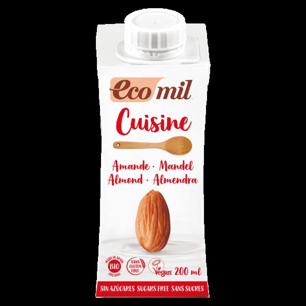 EcoMil Bio Mandel Cuisine zuckerfrei