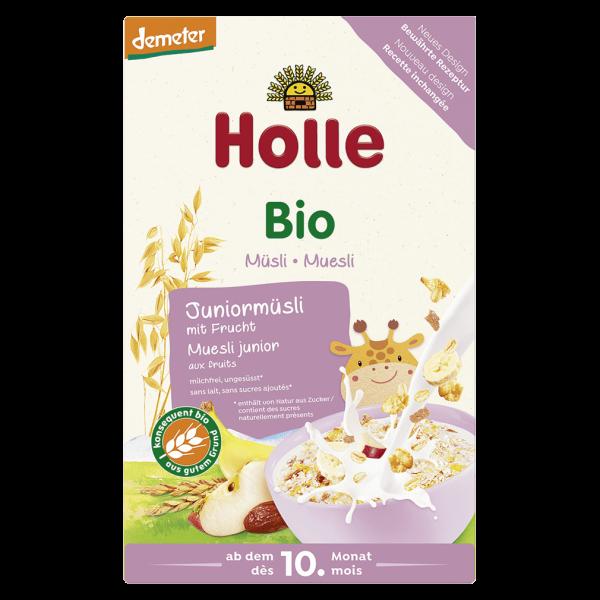 Holle Bio-Juniormüsli Mehrkorn mit Frucht, 250g