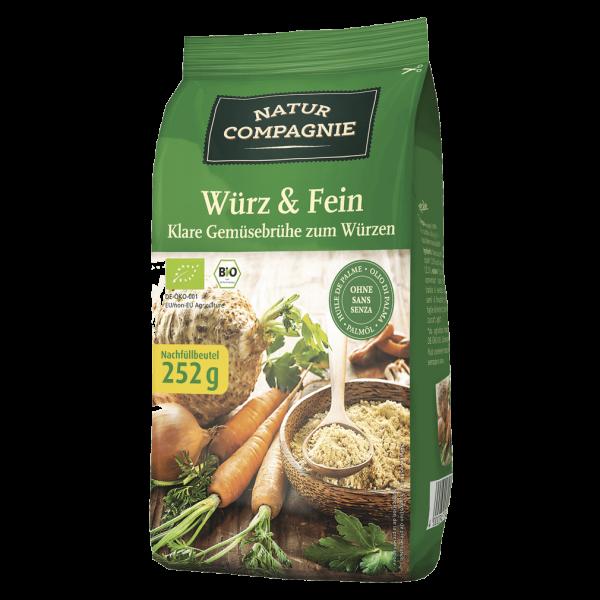 Natur Compagnie Bio Würz & Fein, 252g