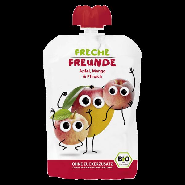 Freche Freunde Bio Apfel, Mango, Pfirsich