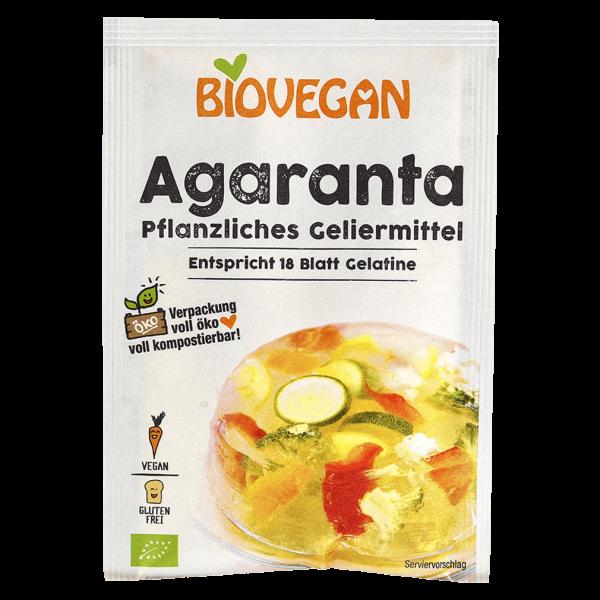 Biovegan Bio Agaranta, pflanzliches Geliermittel