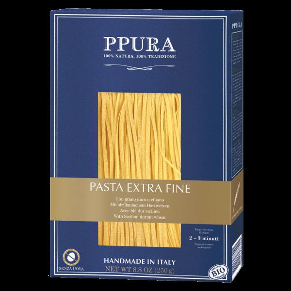 PPura Bio Pasta Extra Fine mit Hartweizen