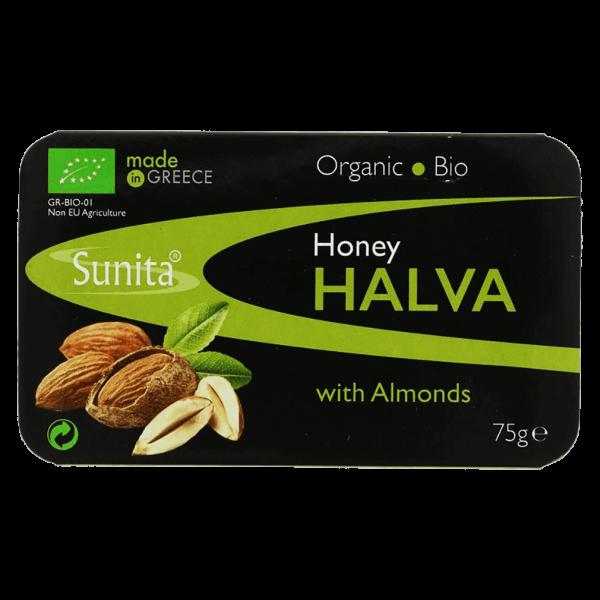 Sunita Bio Sesam Halva mit Honig und Mandel