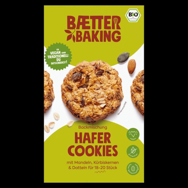 baetter Bio Backmischung Hafer Cookies