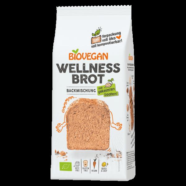 Biovegan Bio Wellness Brot Backmischung