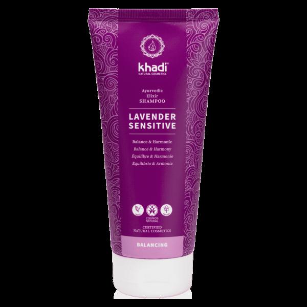Khadi Shampoo Lavender Sensitiv