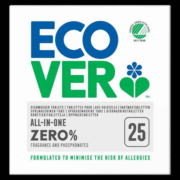 Ecover All-In-One Spülmaschinen-Tabs ZERO
