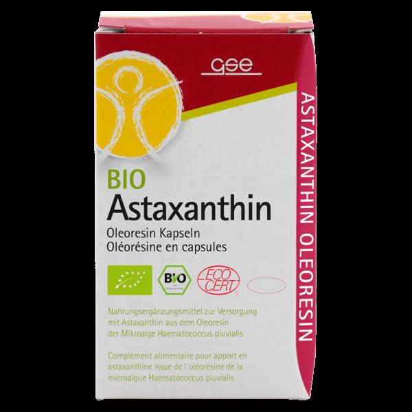 GSE Bio Astaxanthin Oleoresin Kapseln