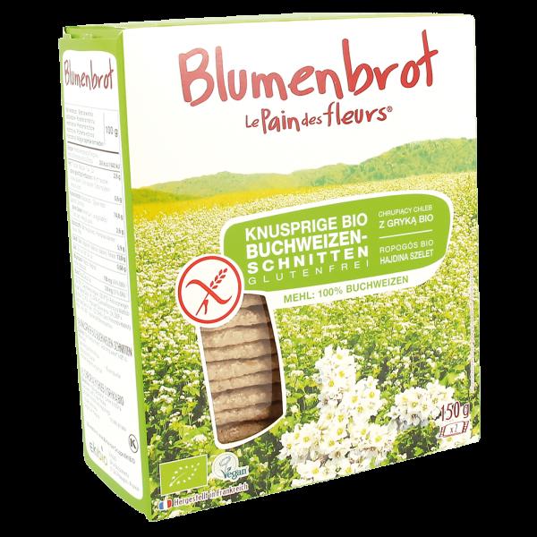 Blumenbrot Bio Knusprige Buchweizen-Schnitten glutenfrei