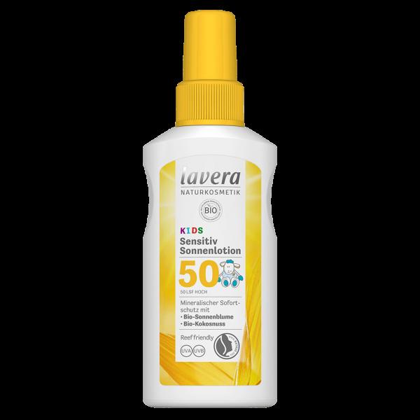 Lavera Sensitiv Sonnecreme LSF 50 Kids, 100 ml