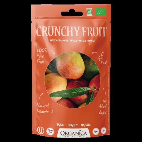 Organica Bio Crunchy Fruit, Mango