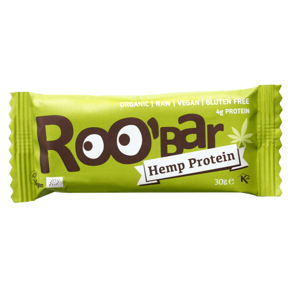 Roobar Bio Rohkostriegel Hanfprotein