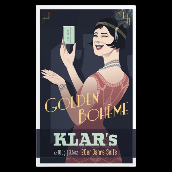 Klar Seifen Golden Bohème Retroseife