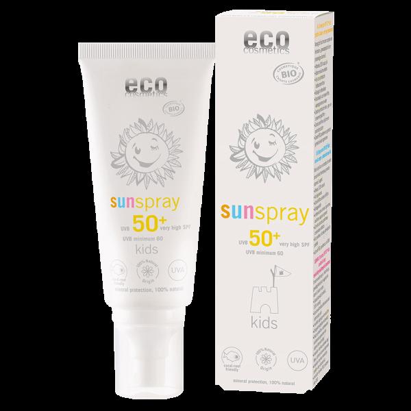 Eco Cosmetics Kids Sonnenspray LSF50+, 100 ml Stück